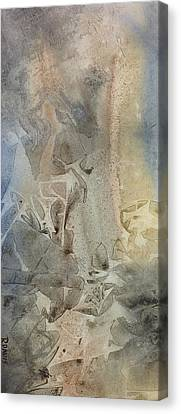 Canvas Print featuring the painting Dust Drift by Rebecca Davis