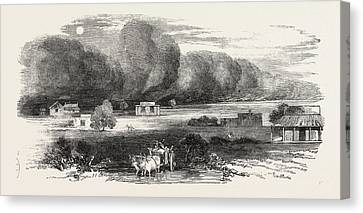 Dust Storm In The Punjab Canvas Print