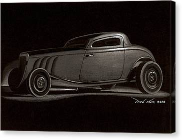 Dusty Ford Coupe Canvas Print by Paul Kim