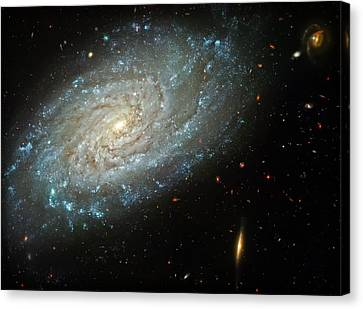 Dusty Galaxy Canvas Print by Jennifer Rondinelli Reilly - Fine Art Photography