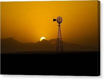 Dusty Sunset Canvas Print