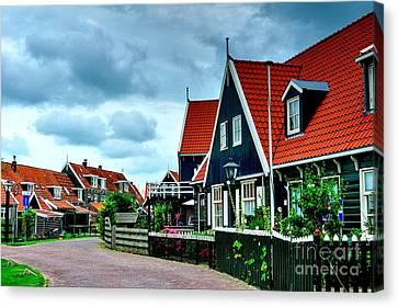 Canvas Print featuring the photograph Dutch Village by Joe  Ng