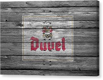 Duvel Canvas Print