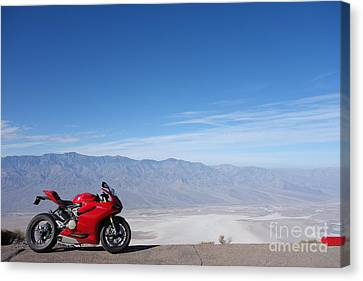 DV Canvas Print by AntiHero Panigale