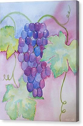 D'vine Delight Canvas Print by Heidi Smith