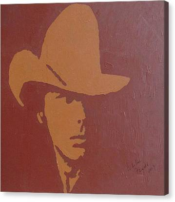 Dwight Yoakam Canvas Print by Darlene Fernald