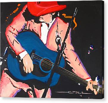 Dwight Yoakam Canvas Print by Eric Dee