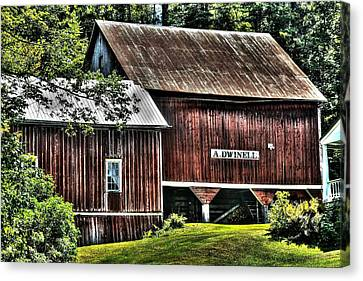 Dwinell's Barn Canvas Print