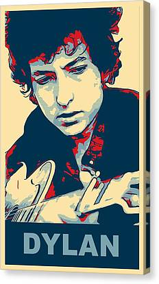 Roll Canvas Print - Dylan by Dan Sproul