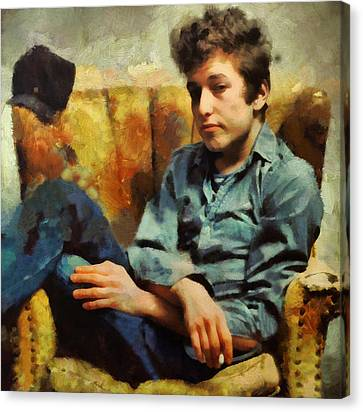 Dylan  Canvas Print by Janice MacLellan