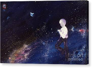 Dylan Pausing To Wonder Canvas Print