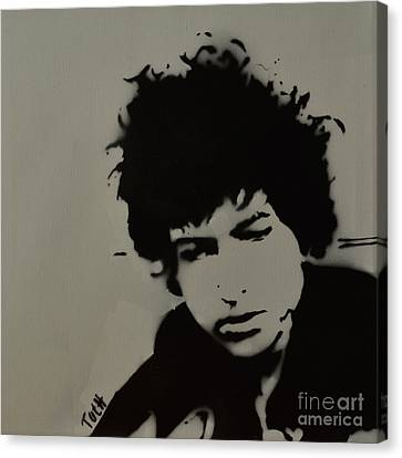 Dylan Spray Art Canvas Print