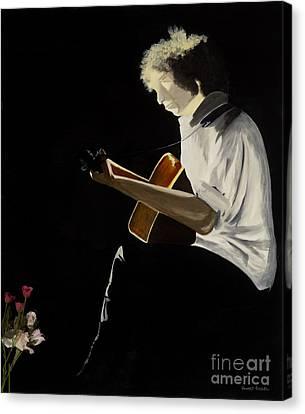 Dylan Canvas Print by Stuart Engel
