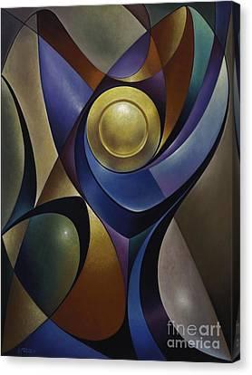 Dynamic Chalice Canvas Print by Ricardo Chavez-Mendez