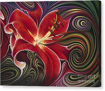 Dynamic Reds Canvas Print