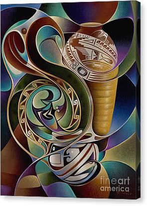 Dynamic Still I Canvas Print by Ricardo Chavez-Mendez