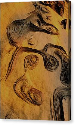Dynamic World II Canvas Print by Jean Paul Thierevere