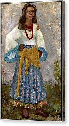 Gypsy Canvas Print - Dzhalma Dzma1 by Pemaro