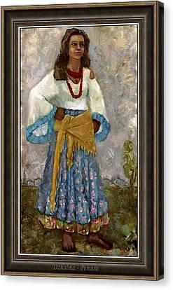 Gypsy Canvas Print - Dzhalma Dzma2 by Pemaro