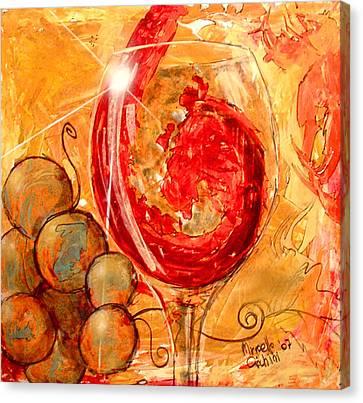 E Dio Disse Canvas Print by Marcello Cicchini