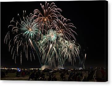 Eaa Fireworks - 2013 Canvas Print