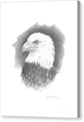 Eagle-1 Canvas Print by Lee Updike