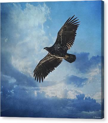 Eagle Art - Like An Eagle Canvas Print by Jordan Blackstone