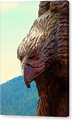 Eagle Canvas Print by Brian Sereda