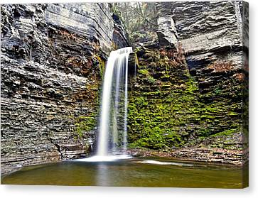 Eagle Cliff Falls Canvas Print by Frozen in Time Fine Art Photography