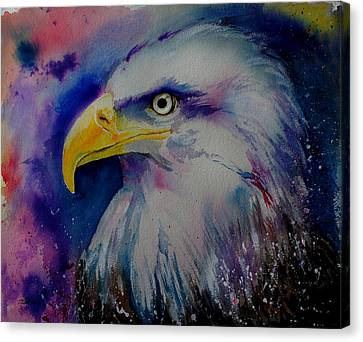 Eagle Canvas Print by Isabel Salvador