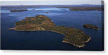 Eagle Island, Penobscot Bay Canvas Print by Dave Cleaveland