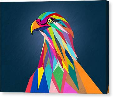 Eagle Canvas Print by Mark Ashkenazi