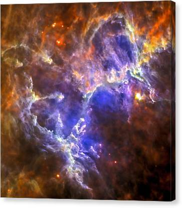 Eagle Nebula Canvas Print by Adam Romanowicz