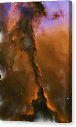 Nebula Canvas Print - Eagle Nebula by Inspirowl Design
