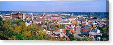 Eagle Point Park, Dubuque, Iowa Canvas Print by Panoramic Images