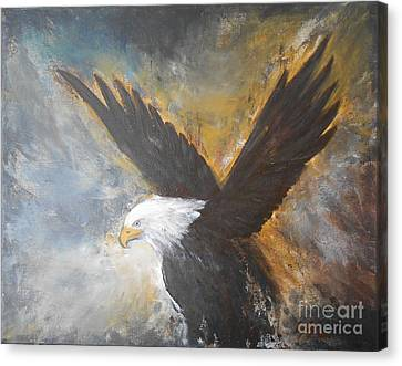 Eagle Spirit 2 Canvas Print by Jane  See