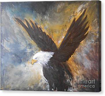 Eagle Spirit Canvas Print by Jane  See