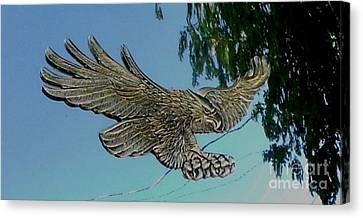 Eagle View Canvas Print by Gail Matthews