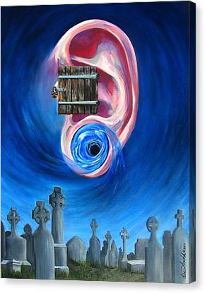 Ear To Hear Canvas Print