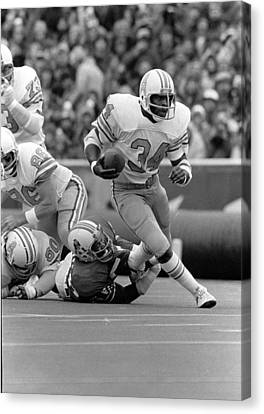 Earl Campbell Canvas Print by Gianfranco Weiss