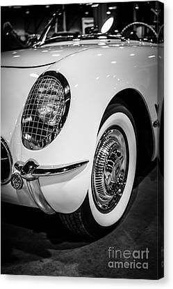 Early 1950's Chevrolet Corvette Canvas Print by Paul Velgos