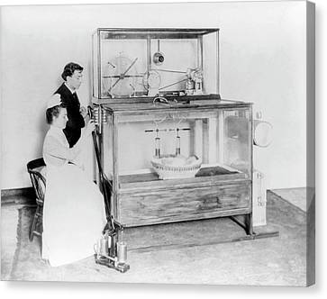 Early 20th Century Incubator Canvas Print by Library Of Congress