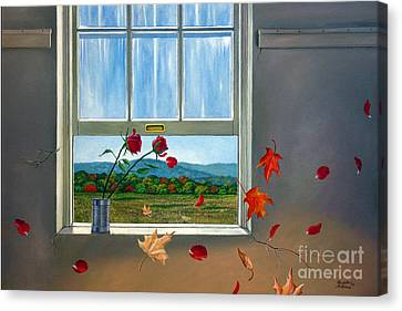 Early Autumn Breeze Canvas Print by Christopher Shellhammer