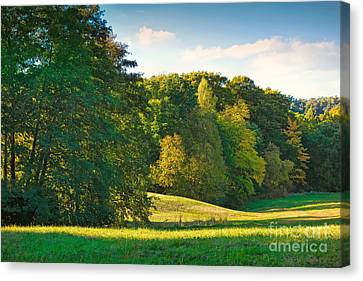 Early Autumn Canvas Print by Lutz Baar