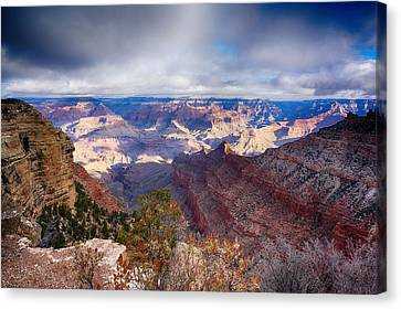 Early Clouds Over Hopi Point Canvas Print