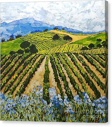Early Crop Canvas Print by Allan P Friedlander