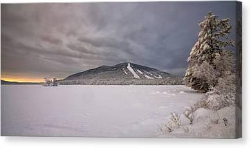 Early Dawn At Shawnee Peak Canvas Print by Darylann Leonard Photography
