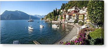 Early Evening View Of Waterfront Canvas Print by Panoramic Images