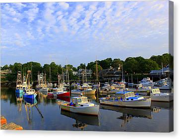 Early Morning At Perkins Cove Canvas Print