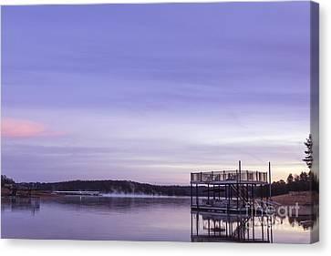 Early Morning At The Lake Canvas Print